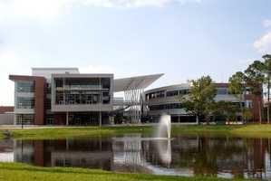 8. University of North Florida (enrollment 16,198) - Two violent crimes, 160 property crimes for a total of 162 offenses