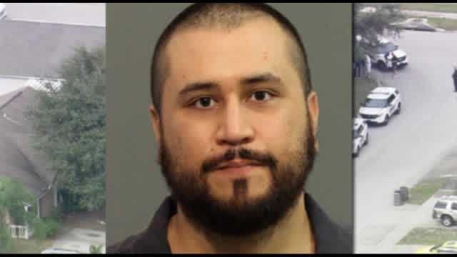 George Zimmerman called 911 on Monday to report his pregnant girlfriend had gone crazy and called police on him after trying to kick him out.