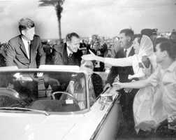 More people meet with Kennedy in his stop in Miami on Nov. 18, 1963.