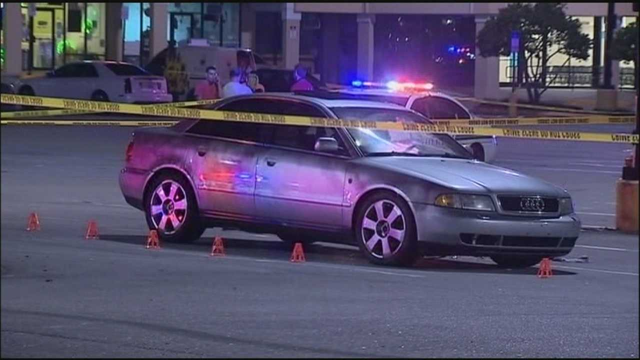 Man shot trying to stop fight between couple