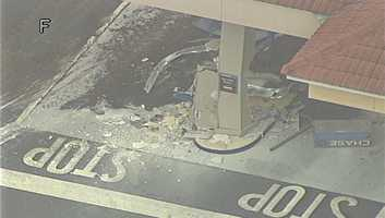 Orlando police are investigating after they said a front-end loader was used to steal an ATM.