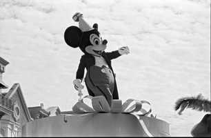 "Did you know that Mickey Mouse made his first appearance in the short film ""Steamboat Willie"" in 1928? The film was only about 7 and a half minutes long."