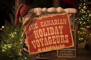 """Epcot at the Walt Disney World Resort kicks off the holiday season celebrating the holidays from around the world within the World Showcase. The festivities go on from Nov. 29 until Dec. 31. One of the new events is the Canadian Holiday Voyageurs including the popular Celtic rock band """"Off Kilter."""""""
