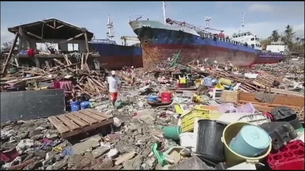 Brevard man helps Typhoon Haiyan victims