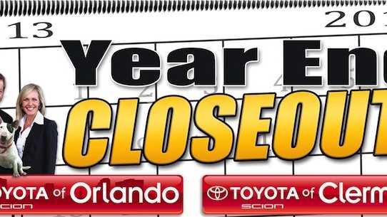 Orlando Toyota specials