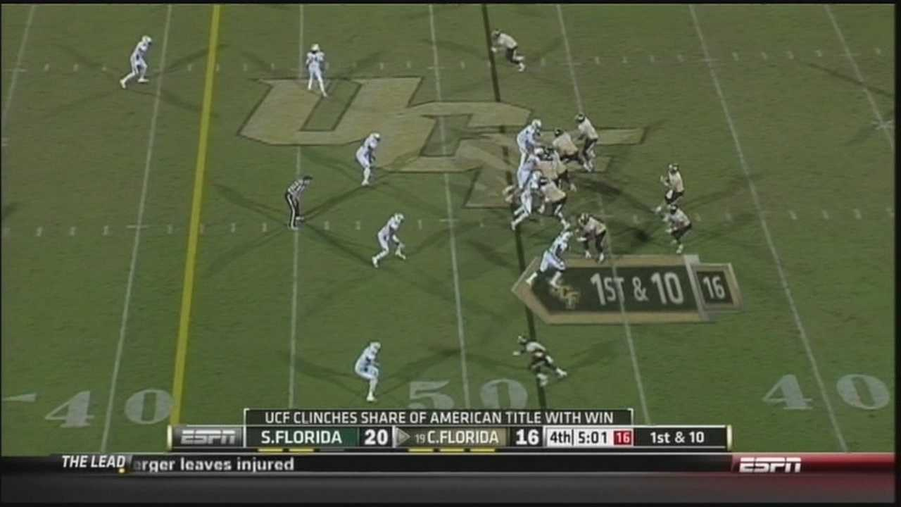 UCF to play in first BCS bowl game