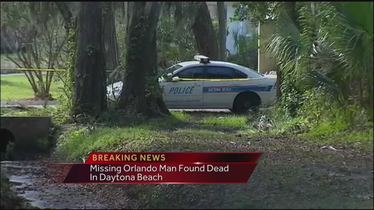 Missing Orlando man found dead in Volusia County