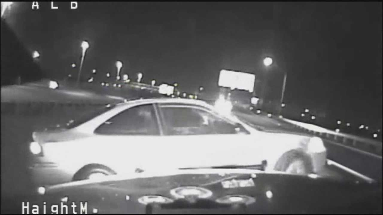 Driver fleeing from trooper hits deputy