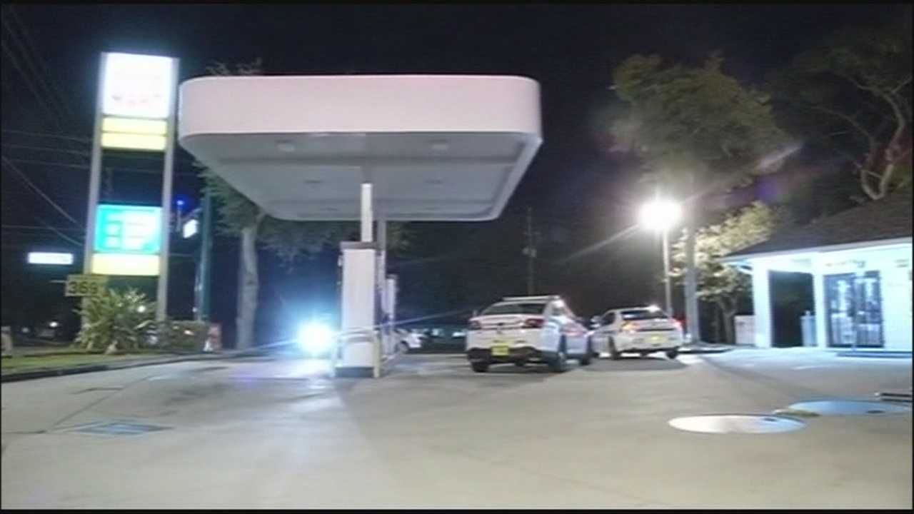 Deputies in Volusia County arrested a man who initially told them he found a newborn baby abandoned at a Debary gas station.