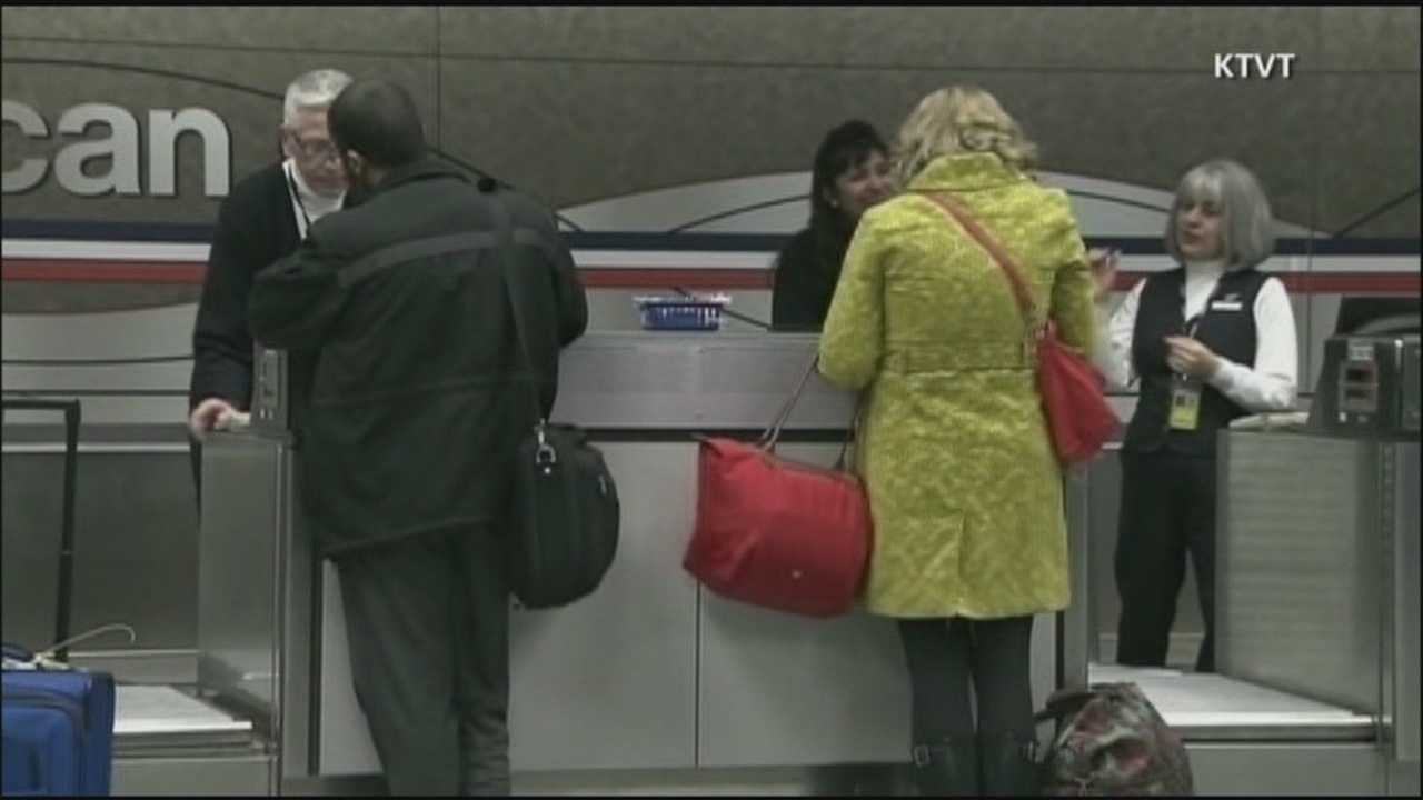 According to officials, 600 flights were canceled Sunday and about 4,500 were delayed.