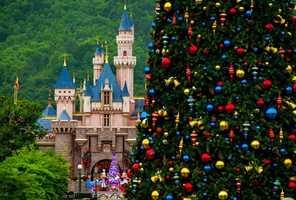 18. Sleeping Beauty Castle on Main Street