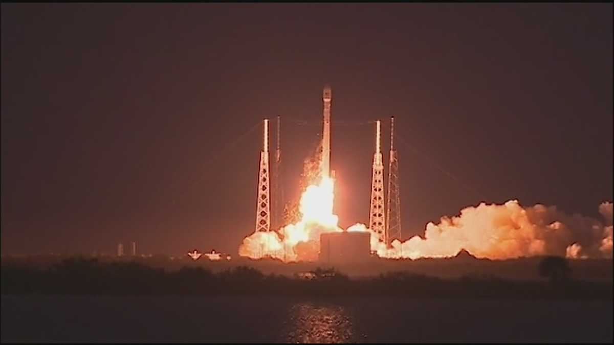 Watch live: SpaceX launch scheduled this evening