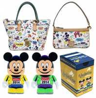 "These new Dooney & Bourke handbags were created especially for this event. The artwork features Mickey Mouse, Donald Duck and Goofy running through a magical course.There will also be a new Vinylmation ""Eachz"" figure released that resembles Mickey Mouse in running attire."