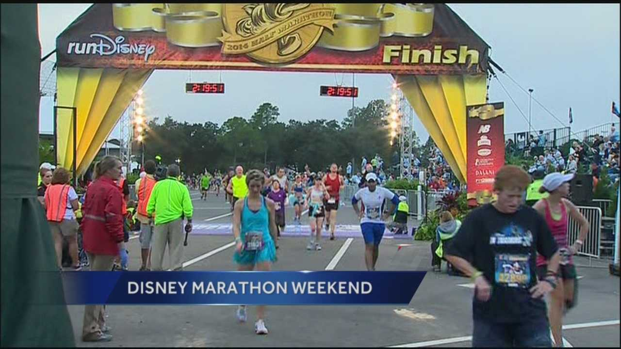 Half Marathon finish line