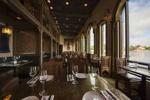 The restaurant features Mediterranean small plates, specialty wines, beers and aperitifs from the region.