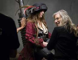 Patti Smith as the Second Pirate in CommandGo behind the scenes of the Disney Dream Portraits and enter the imagination of acclaimed photographer Annie Leibovitz as she transforms celebrities into Disney characters.