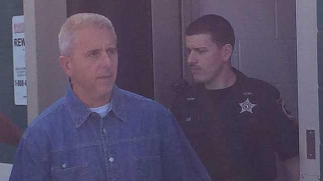 Mike Tucker leaving Sumter jail