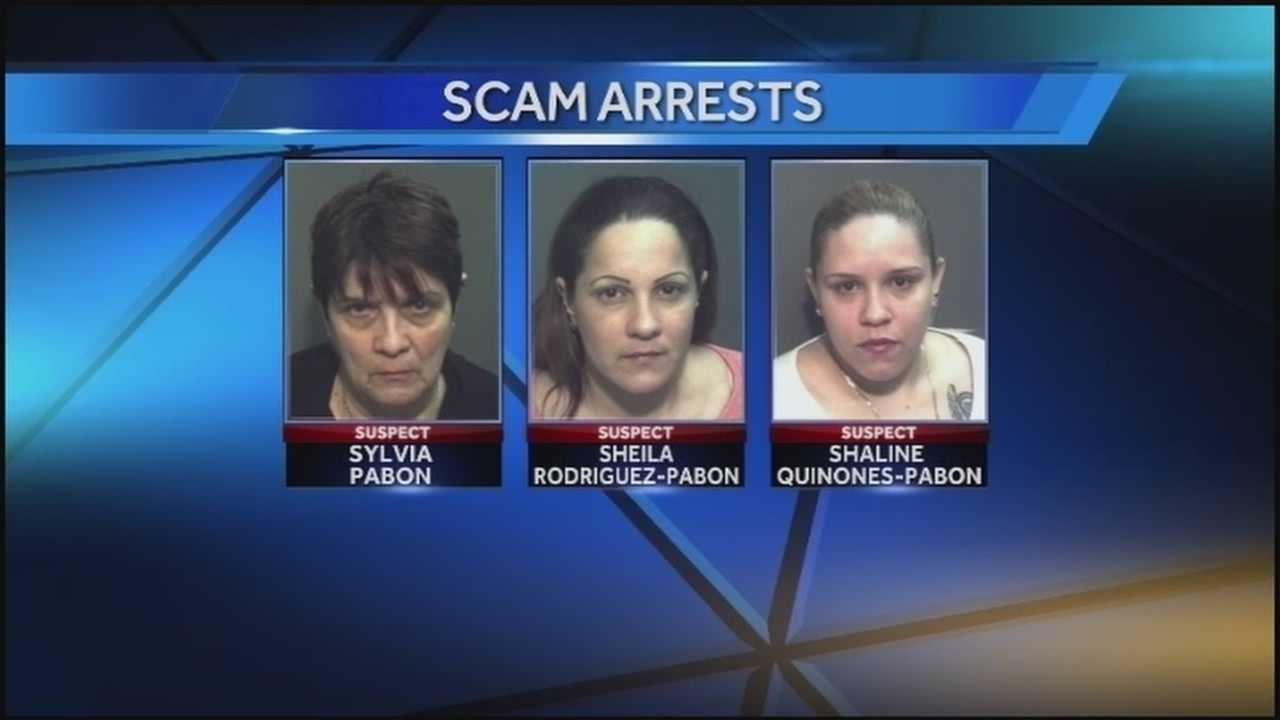 Three generations of women arrested for shoplifting