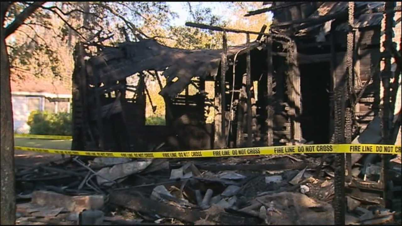 Two fires damaged three central Florida homes overnight.