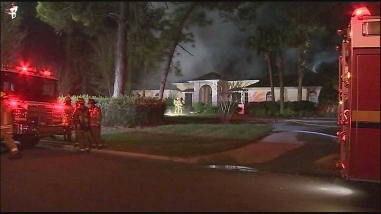 Firefighters are seeing an increase in house fires in central Florida as the temperature drops.