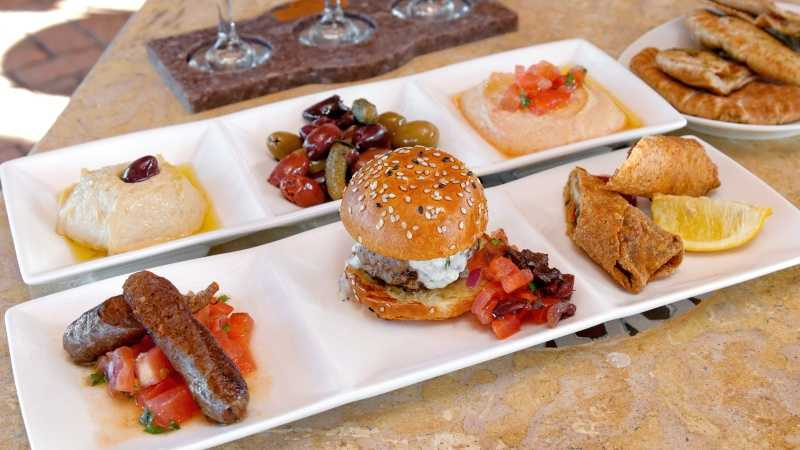 Meat-Sampler-and-Olives-with-Hummus Spice Road Table.jpg