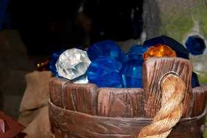 "The seven dwarfs in ""Snow White"" handled jewels much like these, which can be seen in the new Seven Dwarfs Mine Train ride."