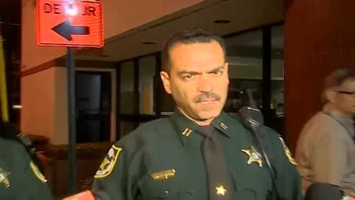 Raw video: Authorities hold news conference following deputy's shooting death