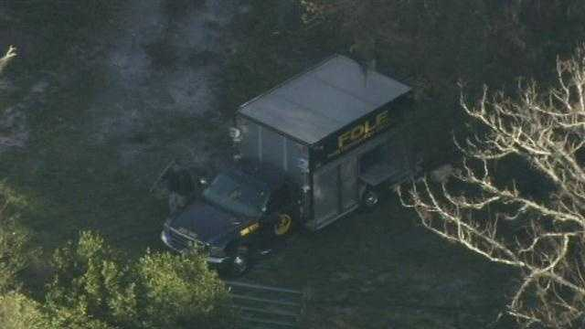 Raw video: Chopper 2 flies over search for missing 2-year-old
