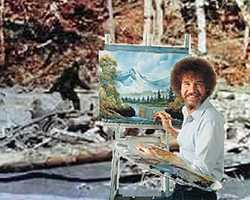 "Bob Ross, an artist best known for hosting the PBS show ""The Joy of Painting,"" was born in Daytona Beach."