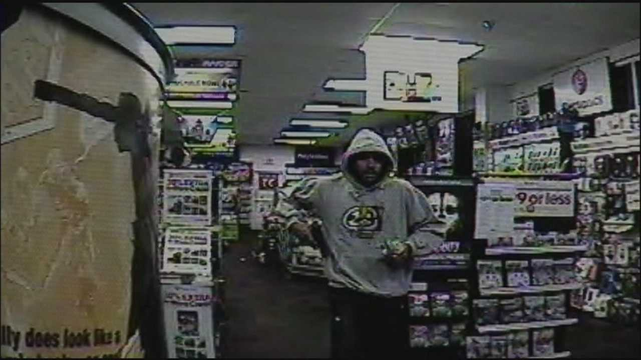 Ocala police need the public's help identifying the man in the above video. He is accused of robbing a GameStop store in Marion County.