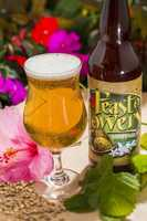 Feast of Flowers Farmhouse Ale from Florida Beer Company is available at Florida Fresh Outdoor Kitchen next to the Germany pavilion.
