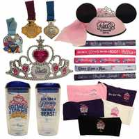 Participants can get their sweat bands with event slogans, Bondi Bands, a new Disney ear hat with pink veil, light-up tiara, Disney pins, drink ware and more.
