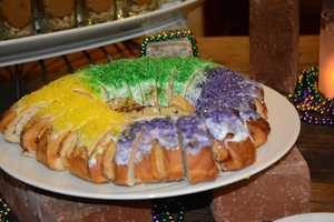King Cake- There was no baby in this one!