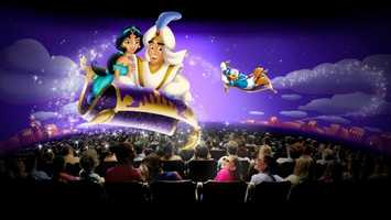 41. Mickey's Philharmagic: Animated 3D concert starring many favorite Disney charactersLocation: Fantasyland