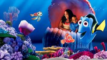 "18. Seas with Nemo and Friends: Guests will board a ""clamobile"" and submerge into the waves where Nemo and his friends live. Location: Future WorldHeight: Any"