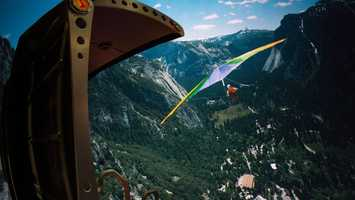 22. Soarin': Feel like you're flying while experiencing the landscapes of California.Location: Future WorldHeight: 40in (102cm) or taller