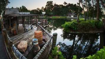 50. Tom Sawyer Island: Take on an adventure as you travel through secret hideaways inspired by Mark Twain stories. Location: Frontierland Height: Any