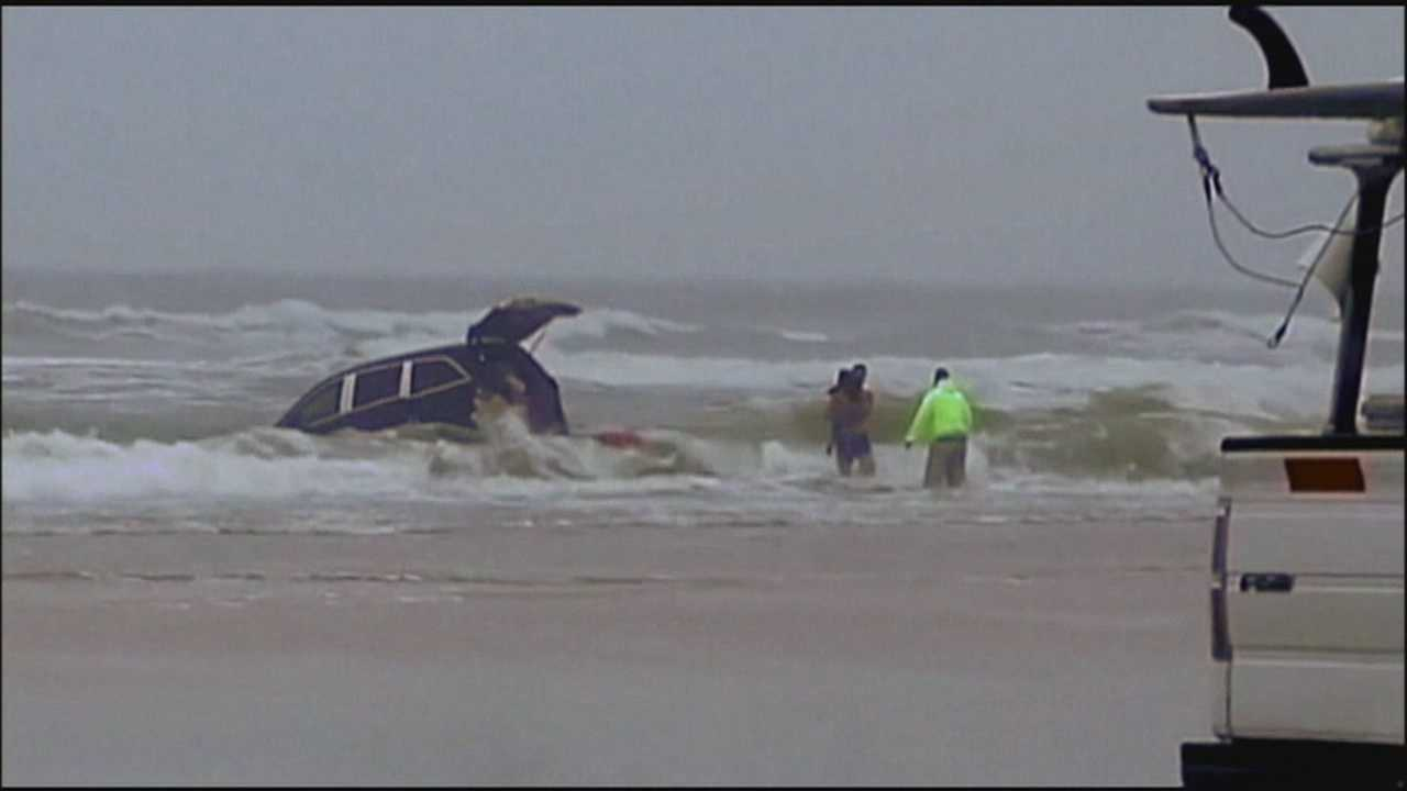Woman talked about demons before driving into ocean, sister says