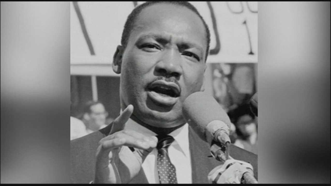 Group rallies to save Tinker Field on anniversary of Martin Luther King Jr. speech