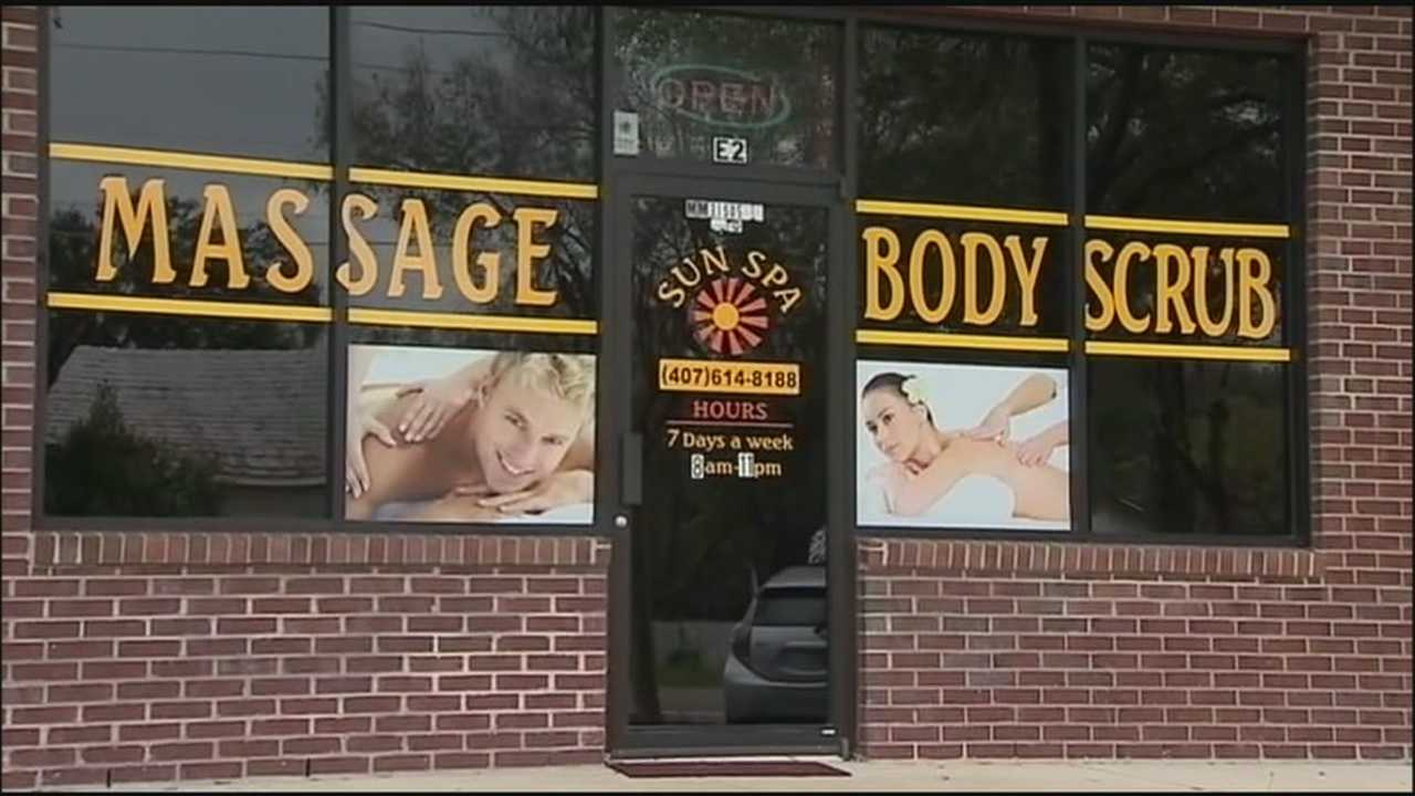 Residents in the Oakland neighborhood, in Orange County, told WESH 2 that they are happy to see a massage business, where detectives said sex was for sale, is closed down.