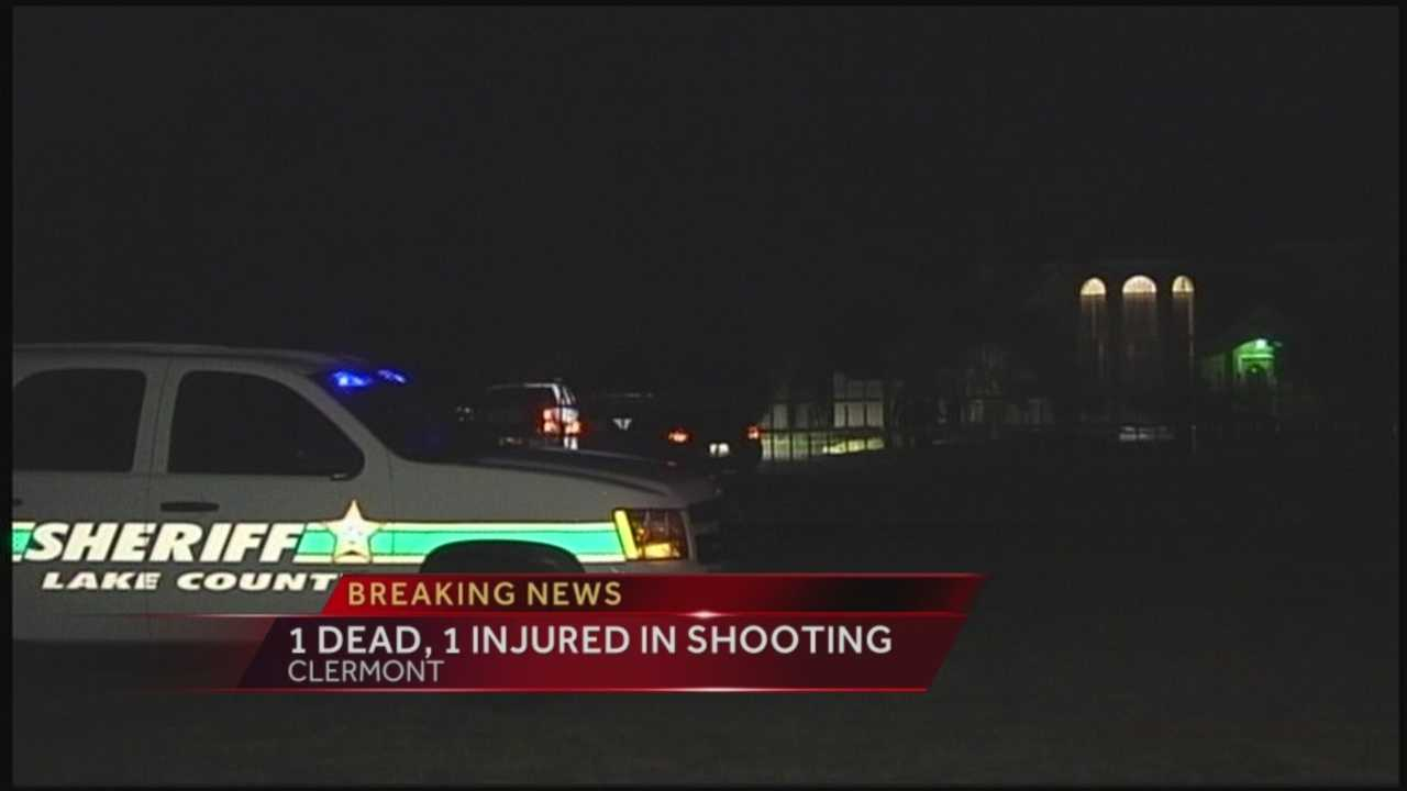 1 dead, 1 injured in Clermont shooting