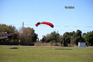 A skydiver and pilot are recovering after a midair collision in Polk County on Saturday.