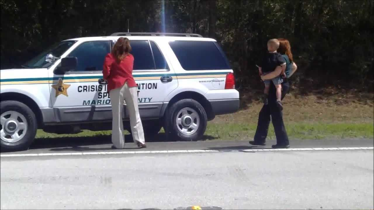 Raw video: Missing woman, children found in Marion County
