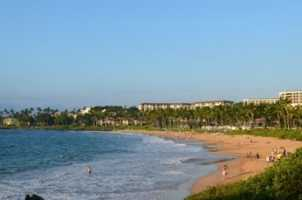 6. Wailea Beach Wailea, Hawaii
