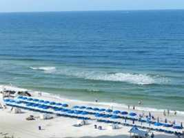 20. Beach at Panama City, Panama City Beach, Florida