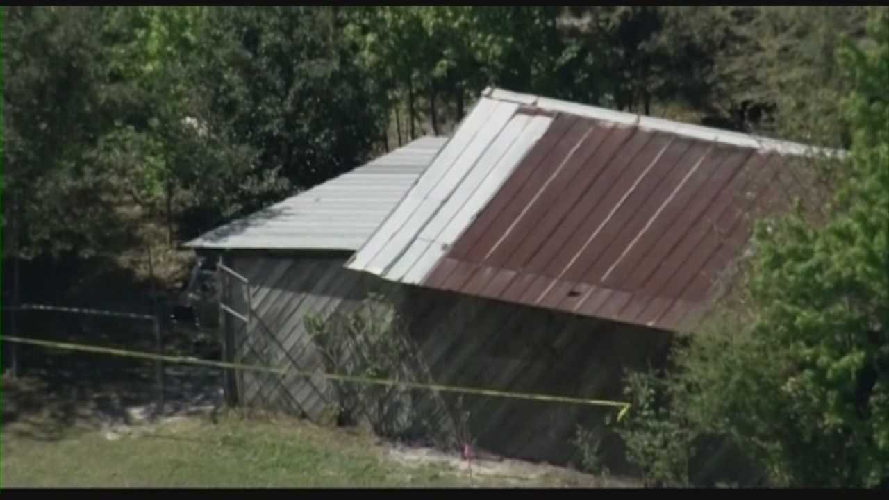 Homicide victims found in shed were shot in head, officials say