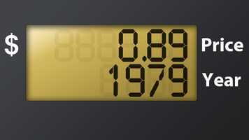 Gas Prices In Florida >> List: Florida gas prices by year