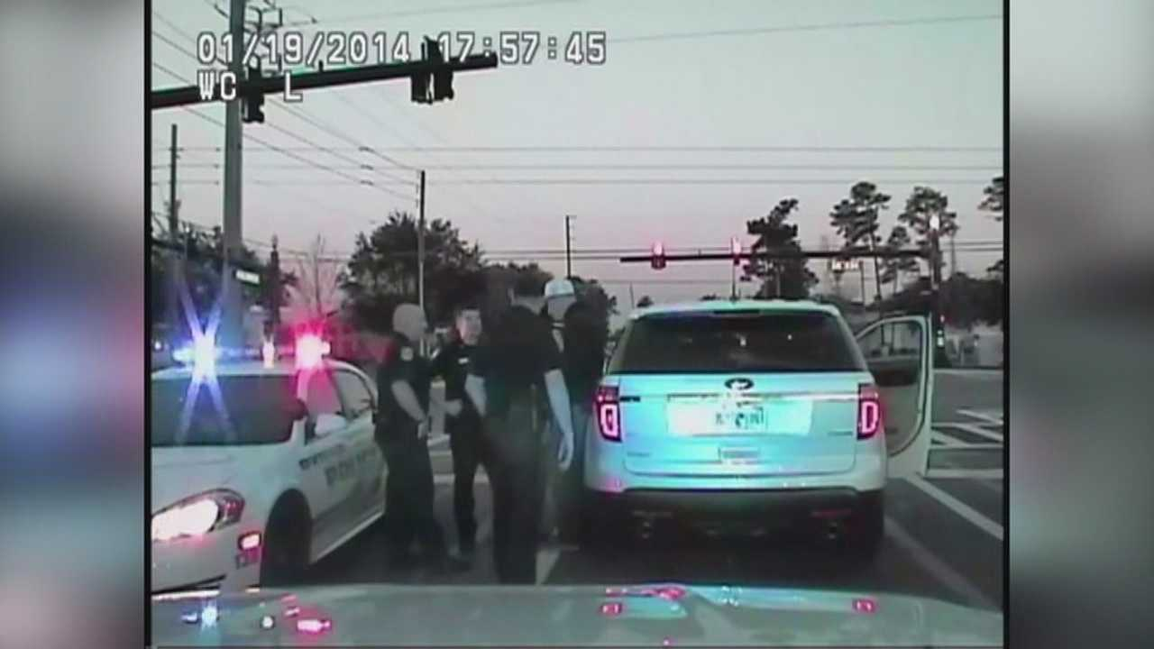 Dashcam video shows Orlando police officer's DUI arrest