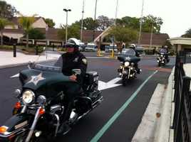 Windermere police Officer Robert German was shot and killed Saturday while on duty. He was laid to rest on Thursday.
