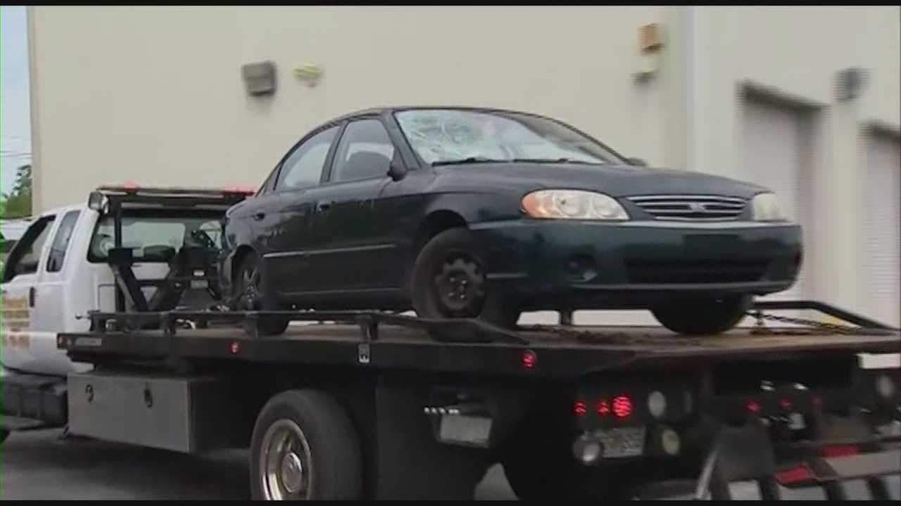 The car authorities said was involved in the fatal hit-and-run crash near Kissimmee was located on Monday.